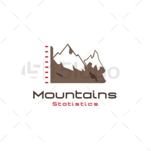 mountains statistics logo