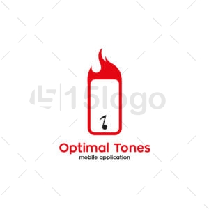 optimal tones creative logo