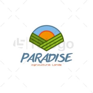 paradise logo design