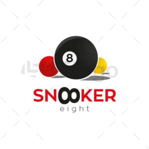 snooker logo design