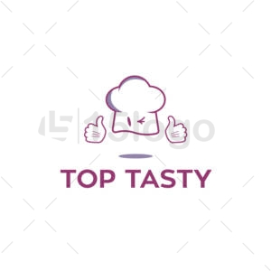 top tasty logo design