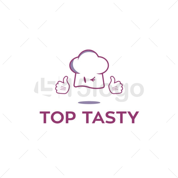 top tasty logo design