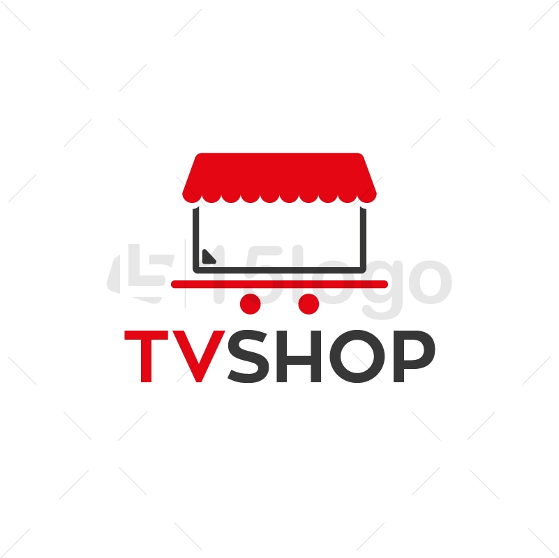 TvShop Logo Design