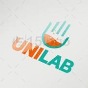 uniLab logo template