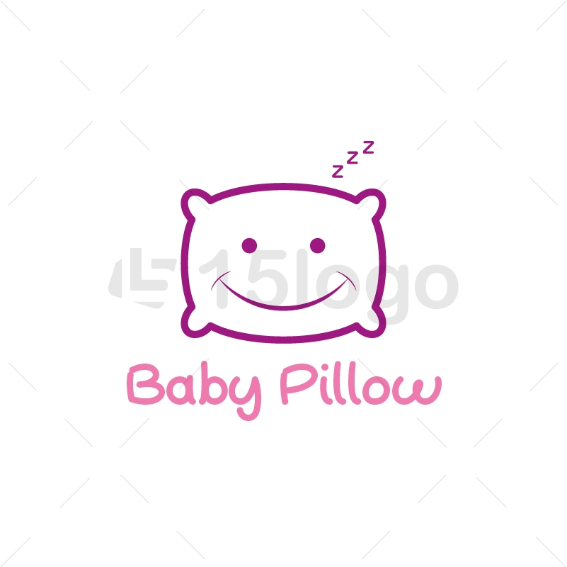 Baby Pillow Logo Design