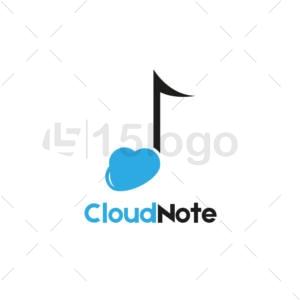 Nuvola Nota logo creativo