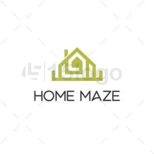 Home Maze Logo Design
