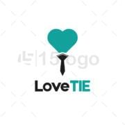 Laço do amor Projeto do logotipoLaço do amor Projeto do logotipo
