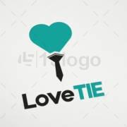 Laço do amor Projeto do logotipo