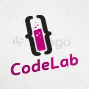 code lab logo template