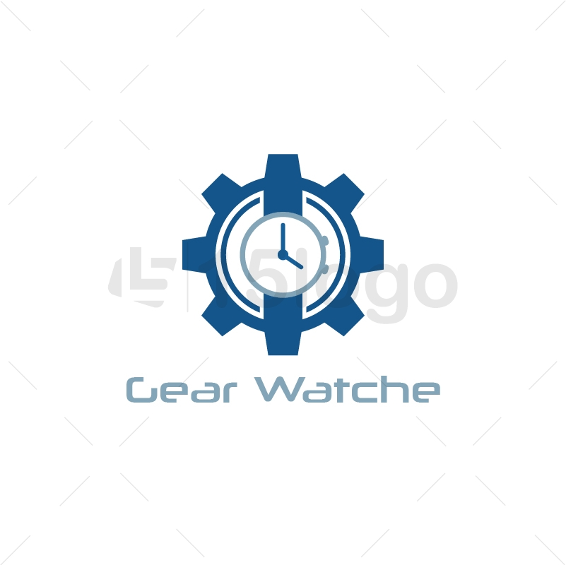 Gear Watche Logo Template