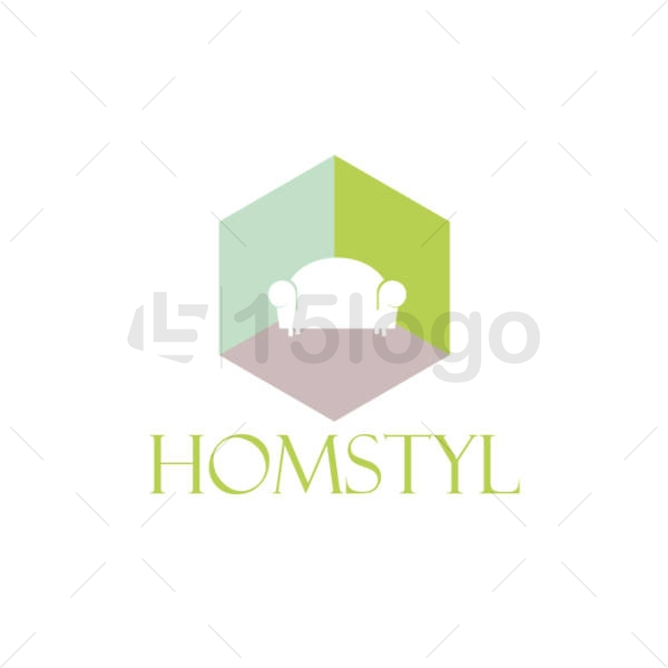 home style logo template