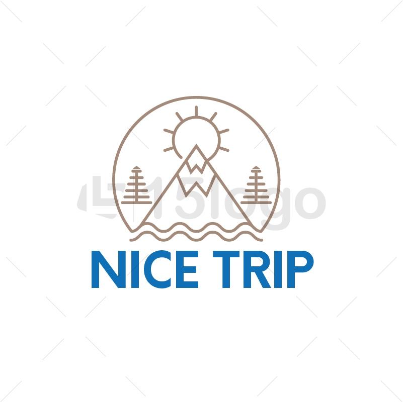 Nice Trip Logo Design