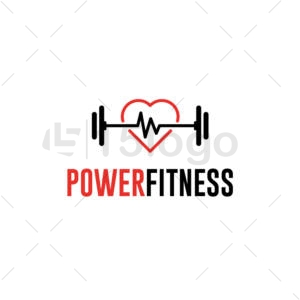 power fitness logo design