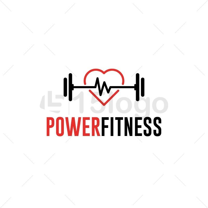 power fitness logo design