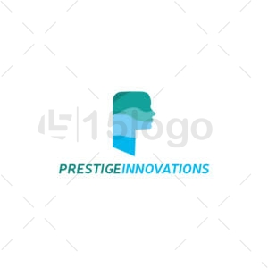 prestige innovation logo template