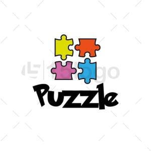 puzzle logo design
