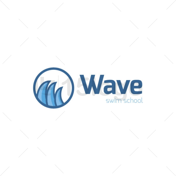 wave logo design