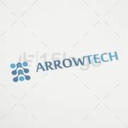 arrow tech logo design