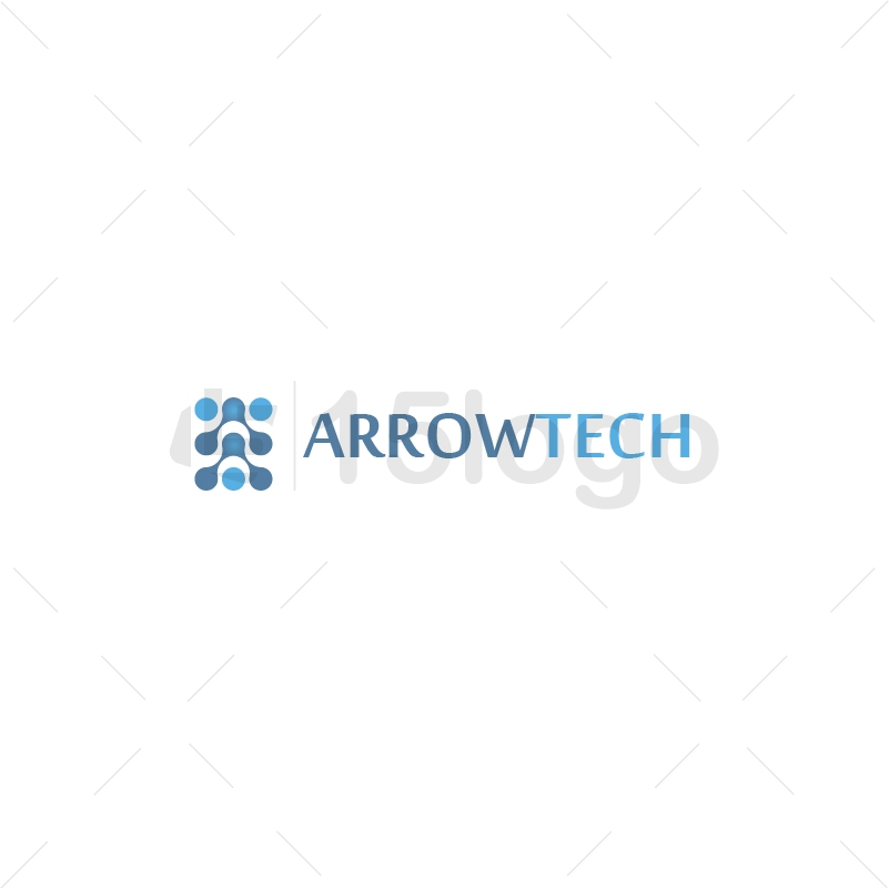 Arrow Tech Logo Design