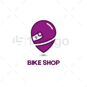 bike shop logo template