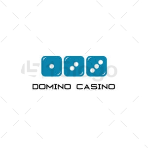 domino casino logo design