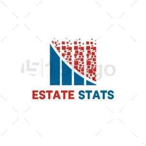estate stats logo design