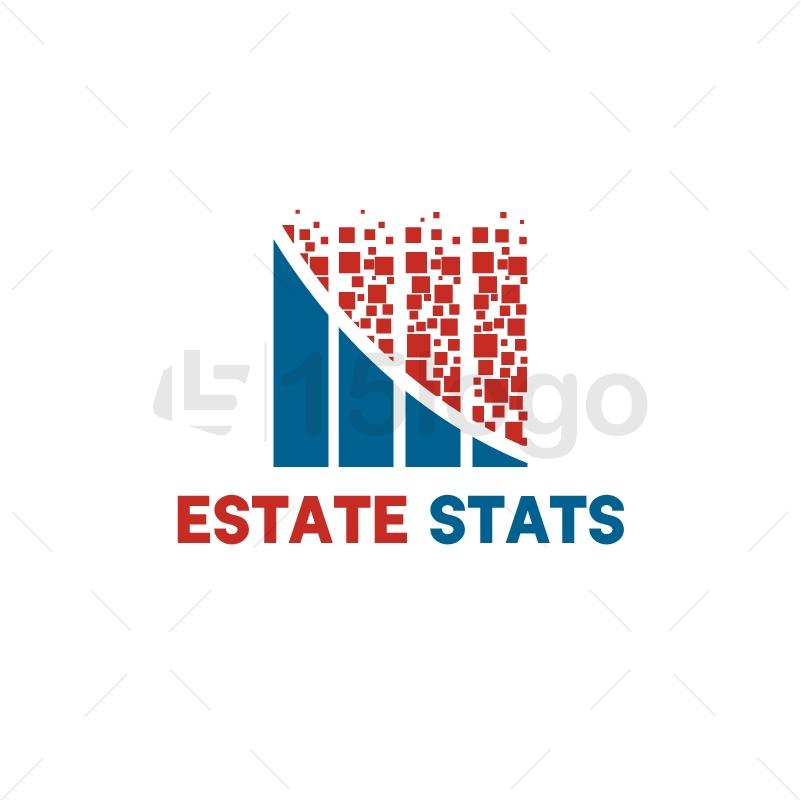 Estate Stats Logo Design