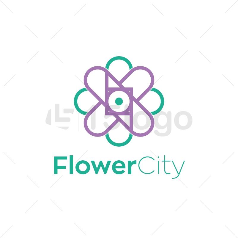 Flower City Logo Design