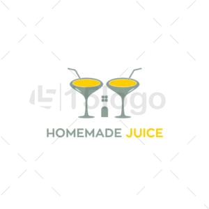 homemade juice logo template