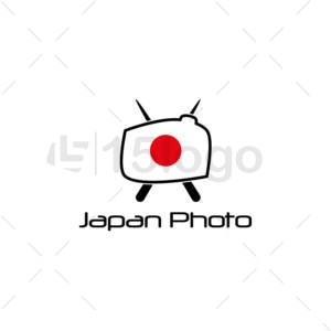 japan photo creative logo