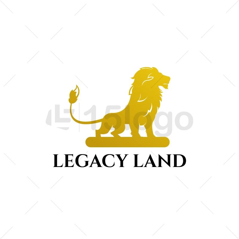 legacy land logo Design