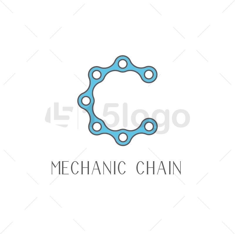 Catena Meccanico Logo Creative