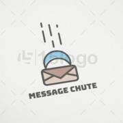 message chute logo template