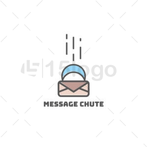 message chute logo template