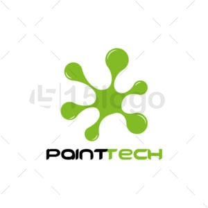 paint tech logo template
