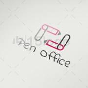 pen office logo design