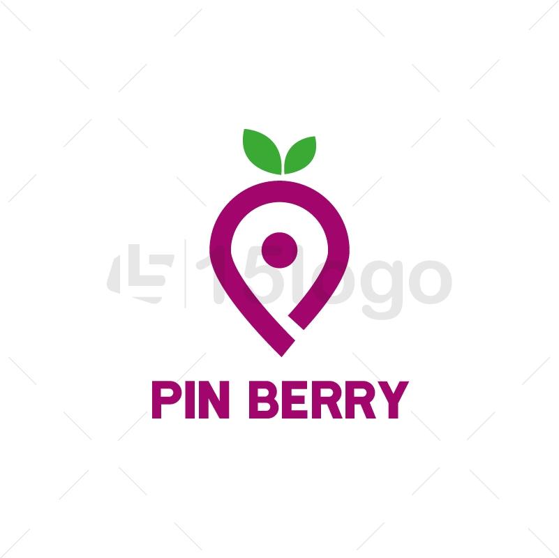 Pin Berry Creative Logo