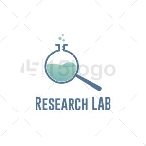 research lab logo design