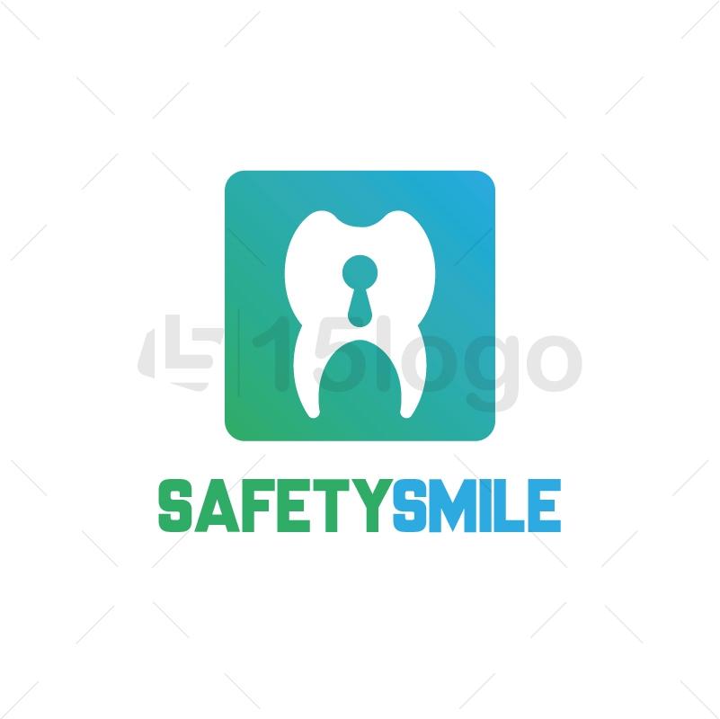 Safety Smile Logo Template
