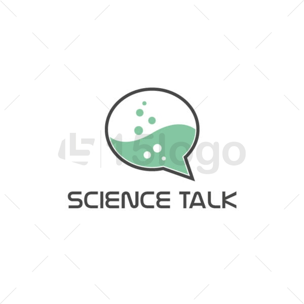 science talk creative logo