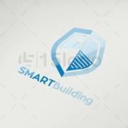 smart building logo design