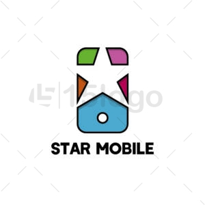 star mobile creative logo