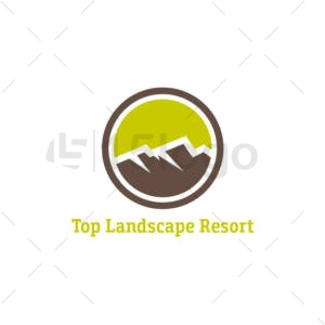 top landscape resort logo