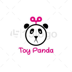 toy panda logo design
