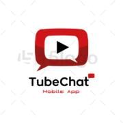 chat tube creative logo