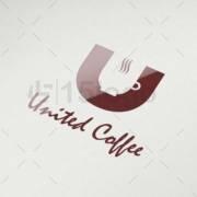 united coffee logo design