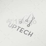 up tech logo template