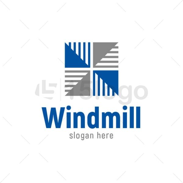 windmill logo design