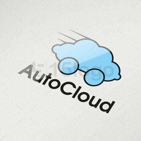 Auto Cloud Shop Logo Vorlage   15LOGO
